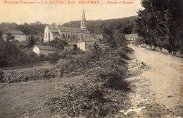 1 Cpa La Comelles Sur Beuvray - France