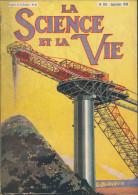 La Science Et La Vie N° 159 - Septembre 1930 - Evacuation Des Résidus Des Mines - Le Métropolitain - Sommaire Photo N° 2 - Science
