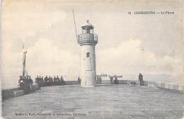 PHARES - 50 - CHERBOURG  : Le Phare - CPA - Manche (Headlight Leuchtturm Vuurtoren Faro ) - Vuurtorens