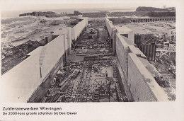 Bd - Cpa Hollande - Wieringen - Zuiderzeewerken - Autres