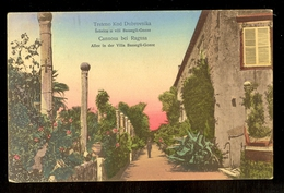 Trsteno Kod Dubrovnika Setnica U Vili Bassegli-Gozze / Postcard Circulated, 2 Scans - Croatie