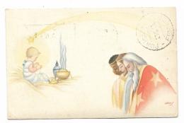 PICCOLO RE DIVINO - RE MAGI -- SIGLATA DEL 1948 VIAGGIATA FP - Cristianesimo