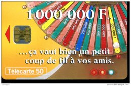 F1009 MILLIONNAIRE   OB 50U - France
