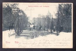 LT1-45 RIGA BASTEI-BRUCKE MIT ANLAGEN - Latvia
