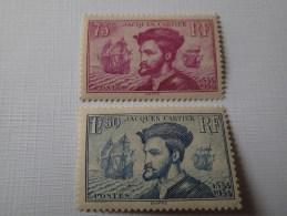 296/97** TB   Cote 300€. - Unused Stamps