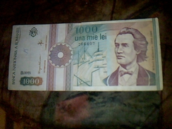 Billet De Banque De Roumanie Aynt Circulé De 1000 Lei TBE - Estonie