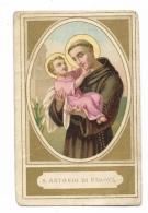 S. Antonio Da Padova Santino - Devotion Images
