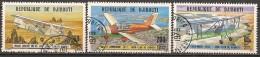 Timbres - Afrique - Djibouti - 1978 - Poste Aérienne - Lot De 3 Timbres -
