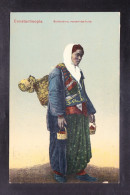 TRPR7-13 CONSTANTINOPLE BOHEMIENNE VENDANT DES FRUITS - Türkei