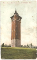 USA - MA - Lawrence : Water Tower, Water Tower Hill - Souvenir Post Card Co. N° 23106 (circ.) - Lawrence