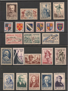 France 1953 Année Complète  N°Y/T: 940/967** Côte 197,00 € - 1950-1959