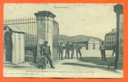 """CPA 88  Remiremont """" Entrée De La Caserne Du 15° Chasseurs """" JCP2 - Remiremont"""