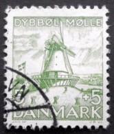 Denmark 1937  Mill  Minr. 234  (O) ( Lot B  719  )Mills Moulins Molinos Mühlen - Oblitérés