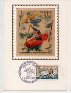 """Championnats Du Monde De Canoë-kayak à """"Bourg Saint-Maurice"""" ( 84 ) 2/8/1969  YT 1609 - FDC"""
