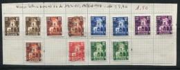 Algérie Divers Timbres Neufs Avec Charnière * Et Oblitérés De 1954 à 1957 - Nuovi