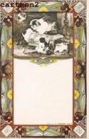 ILLUSTRATOR NEDERLAND ART NOUVEAU UITG. A.W. SEGBOER DELFT. ILLUSTRATEUR Mucha Kirncher 1900 CHAT CAT KAT - Künstlerkarten