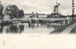 Den Haag 's-Gravenhage DELFTSCHE MILL MOULIN NEDERLAND 1900 - Den Haag ('s-Gravenhage)