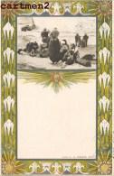 ILLUSTRATOR NEDERLAND ART NOUVEAU UITG. A.W. SEGBOER DELFT. ILLUSTRATEUR Much Kirncher 1900 - Voor 1900