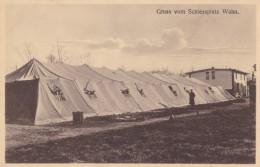 Koeln Cologne Wahn Neighborhood, Gruss Vom Schiessplatz Shooting Range, C1900s/10s Vintage Postcard - Koeln