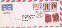 19904. Carta Aerea BAGHDAD (Iraq) 1968 To USA. CENSOR Mark - Iraq