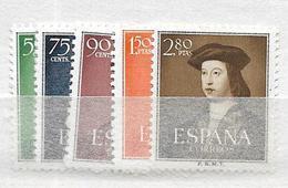 1952 MNH Spain Postfris** - 1951-60 Unused Stamps