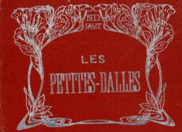 Les Petites-Dalles, Plaquette De Photo, Une Douzaine, Noir Et Blanc, Date Inconnue - Vieux Papiers