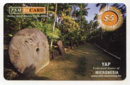 MICRONESIE 5$ Ile De YAP Kaday Stone Money - Micronesia