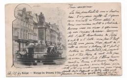 LIEGI VIERGE DE VINAVE D'ILE  ANNO 1899 VIAGGIATA FP - Liège