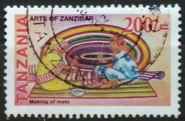 TANZANIA 2002 Folk Arts On Zanzibar. USADO - USED. - Tanzania (1964-...)