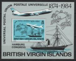 Virgin Islands (1984) Yv. Bf. 21  /  Barcos - Bateaux - Ships - Schiffe - Barche - Boten