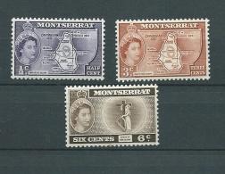 Montserrat  - Yvert N° 148 à 150 ** ( 3 Timbres ) - Ava12502 - Montserrat