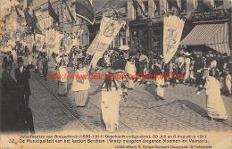 1911 Jubelfeesten Borgerhout. De Municipaliteit Van Het Kanton Berchem - Antwerpen