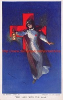 WW1 The Lady With The Lamp - Croix-Rouge