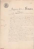 Manuscrit 18/9/1907 Dépot Des Statuts Modifiés De La Margarinerie De BETHUNE Pas De Calais - Documents Historiques