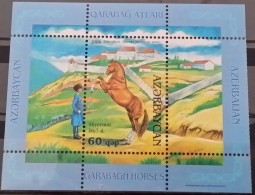 Azerbaijan, 2006, Mi: Block 69 (MNH) - Paarden