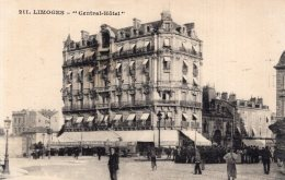 B28007 Limoges - Central Hotel - Unclassified