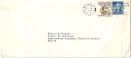 Enveloppe - Départ  De   NEW YORK    ( U.S.A. )  à  Destination  De  Bagnères De Bigorre    ( 65 ) - Amérique Centrale