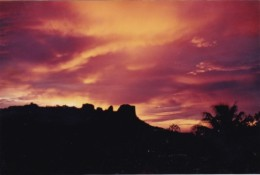 Micronesia Pohnpei Beautiful Sunset Scene - Micronesia
