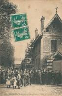 91 CORBEIL  -  SORTIE De L,IMPRIMERIE  CRETE  , (  Novembre 1905 ) - Corbeil Essonnes