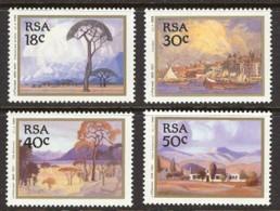 Suid-Afrika / South Africa 1989 : Mi. 779/782 ** - Paintings By Pierneef / Gemälde . .  . S1017 - Zuid-Afrika (1961-...)