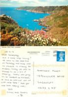 Petit Port, Guernsey Postcard Posted 2012 Stamp - Guernsey