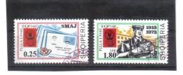 ALB154  ALBANIEN 1973  MICHL  1626/27 Used / Gestempel  SIEHE ABBILDUNG - Albanien