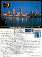 Waterfront, Auckland, New Zealand Postcard Posted 2012 Stamp - Nueva Zelanda