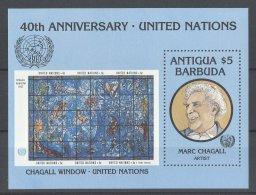 Antigua - 1985 United Nations Block MNH__(TH-17549) - Antigua And Barbuda (1981-...)