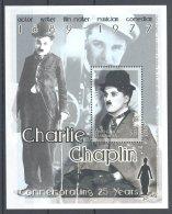 Antigua - 2002 Charlie Chaplin Block MNH__(TH-17863) - Antigua Et Barbuda (1981-...)