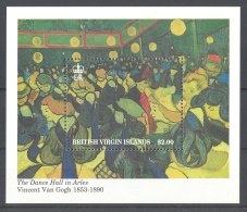 British Virgin Islands - 1991 Vincent Van Gogh Block MNH__(TH-17856) - Britse Maagdeneilanden