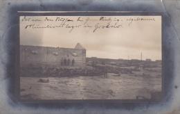 Feldpost WW1: Postcard Munitionslager In Grodno (now Belarus) From Feldartillerie Munitions Kolonne 112 Under 83. Infant - Militares