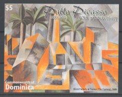 Dominica - 2004 Pablo Picasso Block MNH__(TH-17605) - Dominica (1978-...)