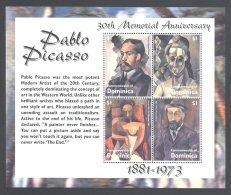 Dominica - 2004 Pablo Picasso Kleinbogen MNH__(THB-4933) - Dominica (1978-...)