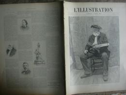 L'ILLUSTRATION 2832 LOUIS Français/ LA DUSE/ CRETE/ ROSES BULGARIE/ BATELLERIE CENTRE/ LE BOUVET  5 Juin 1897 - Newspapers